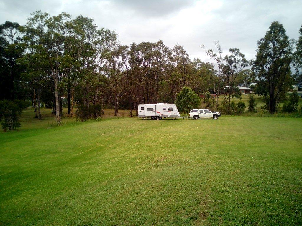 Abermain Bowling Club Camping