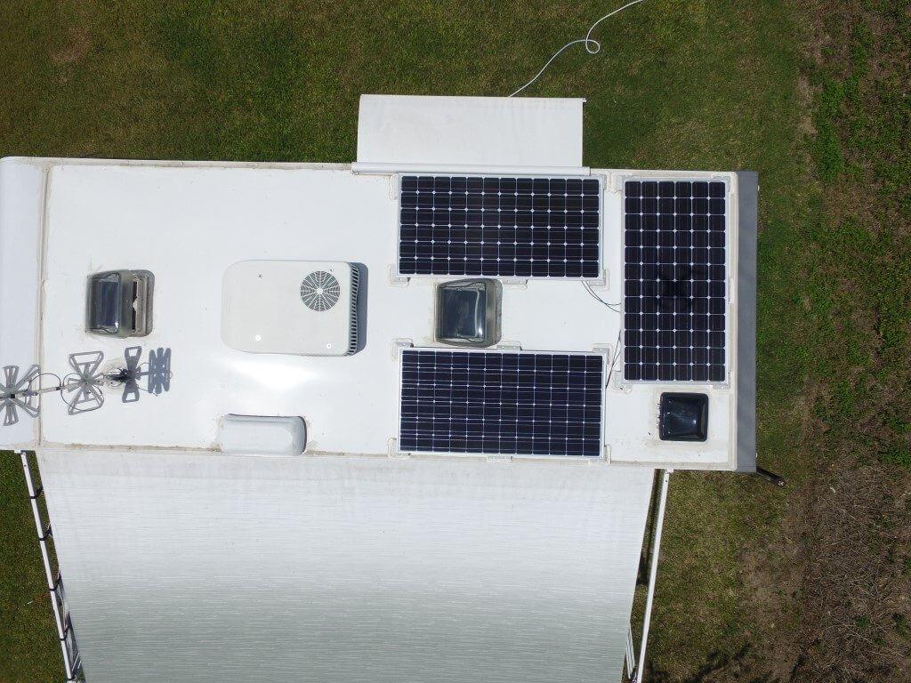 solar on caravan