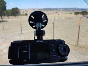 Uniden dashcam