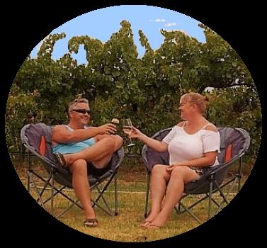 fulltime travel around australia with laz and sue