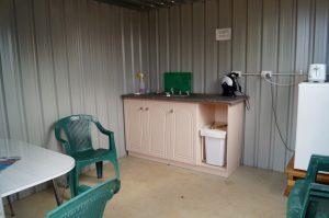 Oakabella Camp kitchen