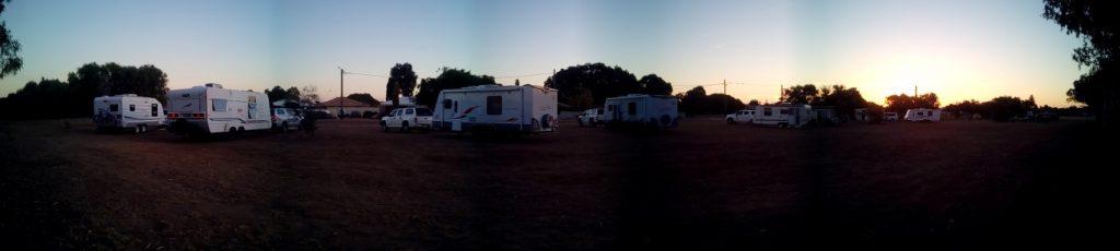 Dongara free camp