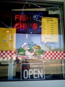 Dongara fish and chips