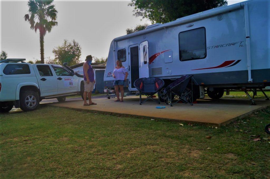 Mandurah caravan and Tourist Park jayco starcraft van