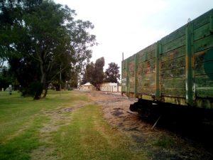 Pinjarra RV Rest Area and rail