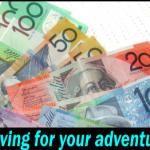 Saving for adventure