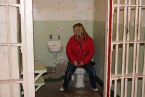 Alcatraz prison toilet