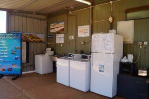 Dampier Caravan Park camp kitchen