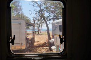 Dampier Caravan Park water view