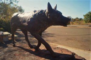 Dampier Red Dog Statue WA