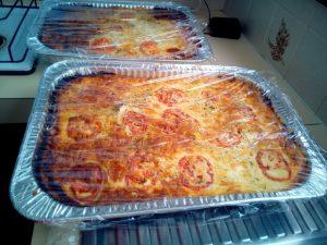 Lasagna for mustering and jackaroos