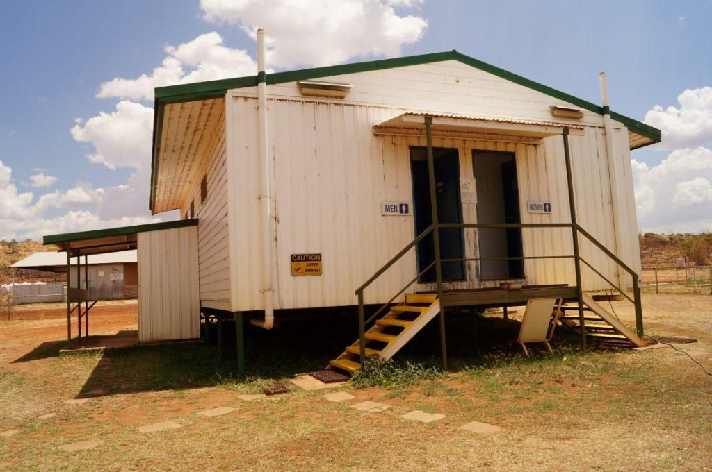 Banka Banka Station Northern Territory camp kitchen laundry and toilets