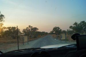 Bungle Bungles road in