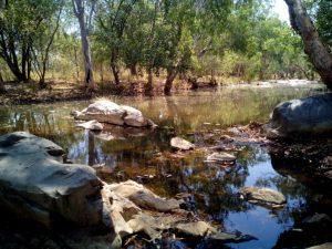 Bungle Bungles Spring Creek Free Camp river