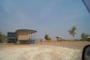 Bungle Bungles Spring Creek Free Camp toilets and dump point