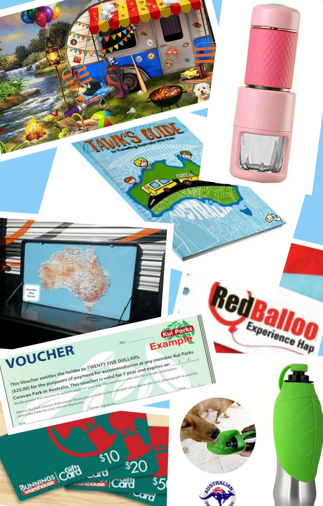 25 gift ideas caravan and camping