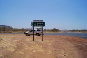 the road in to El Questro western australia