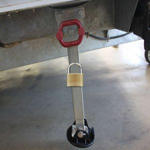 caravan leg security