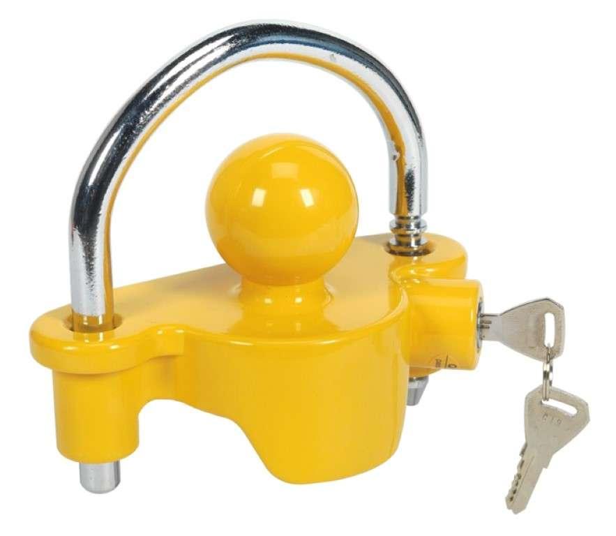 towball lock caravan secutity