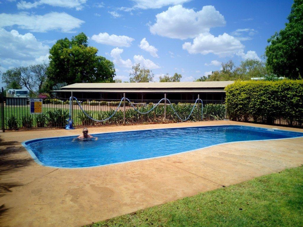 Barkly Homestead Roadhouse Northern Territory pool