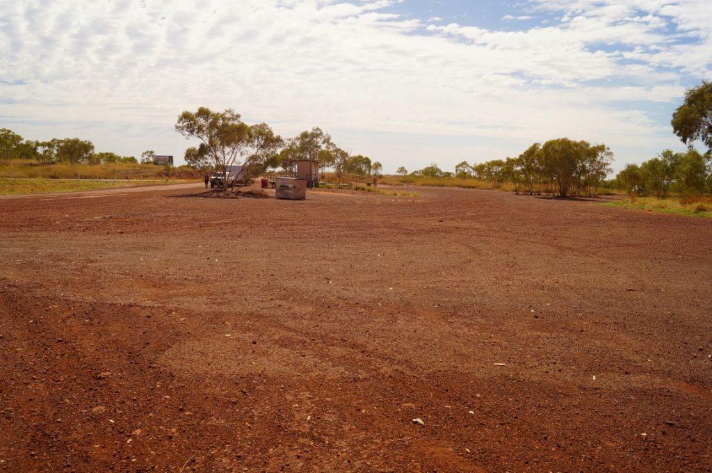 Gunpowder rest stop Queensland