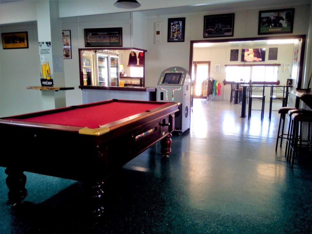Post office Hotel Camooweal pool table