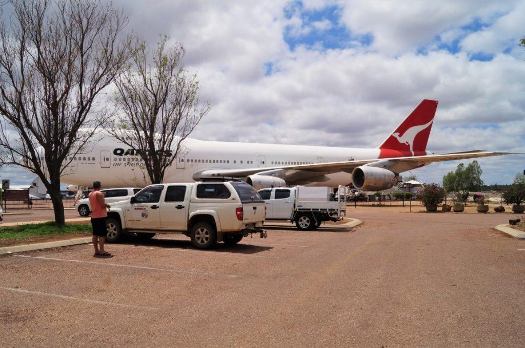 Qantas Longreach plane