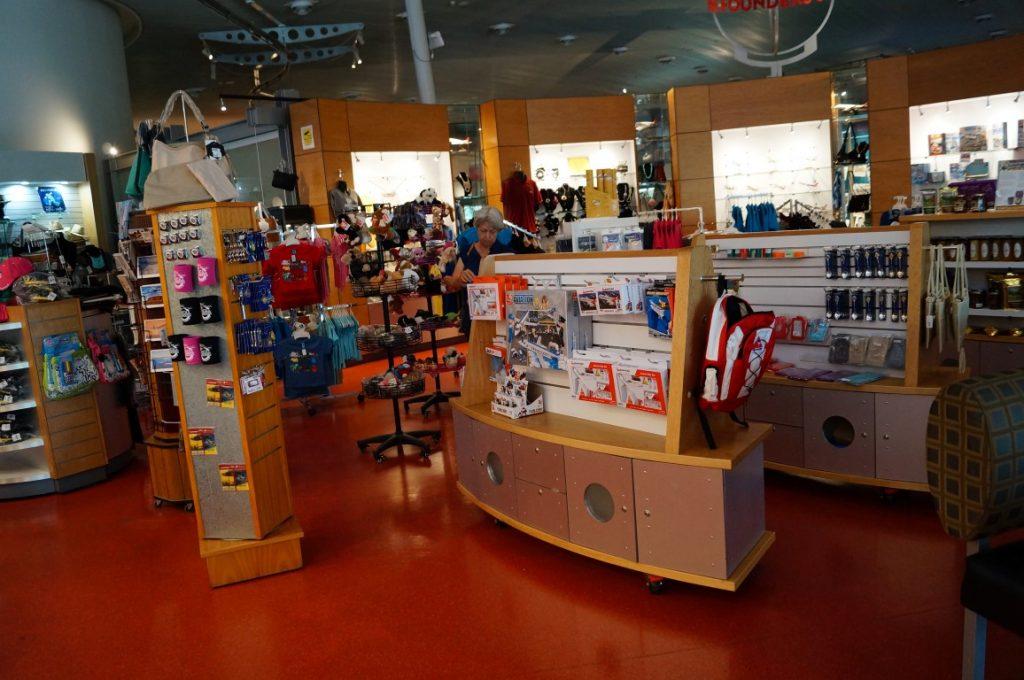 Longreach Qantas gift shop