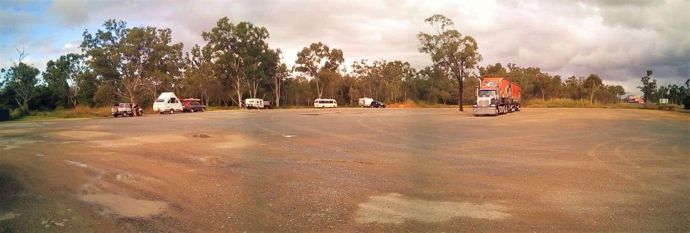 Bloomsbury BP free camp Queensland