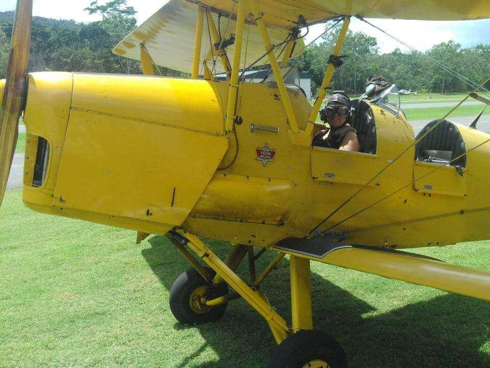 Airlie beach Tiger moth flight