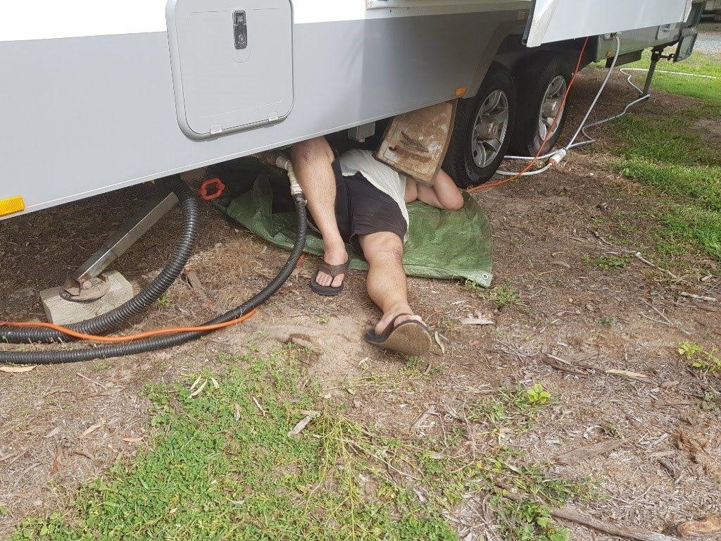 Diesel heater caravan RV installation