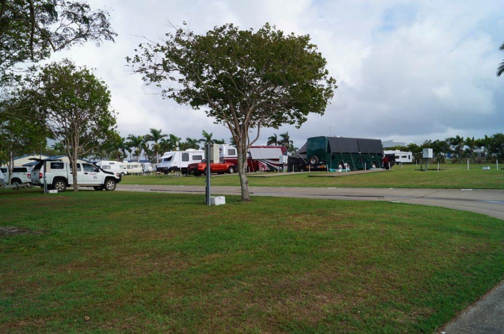 The park Mackay caravan parking