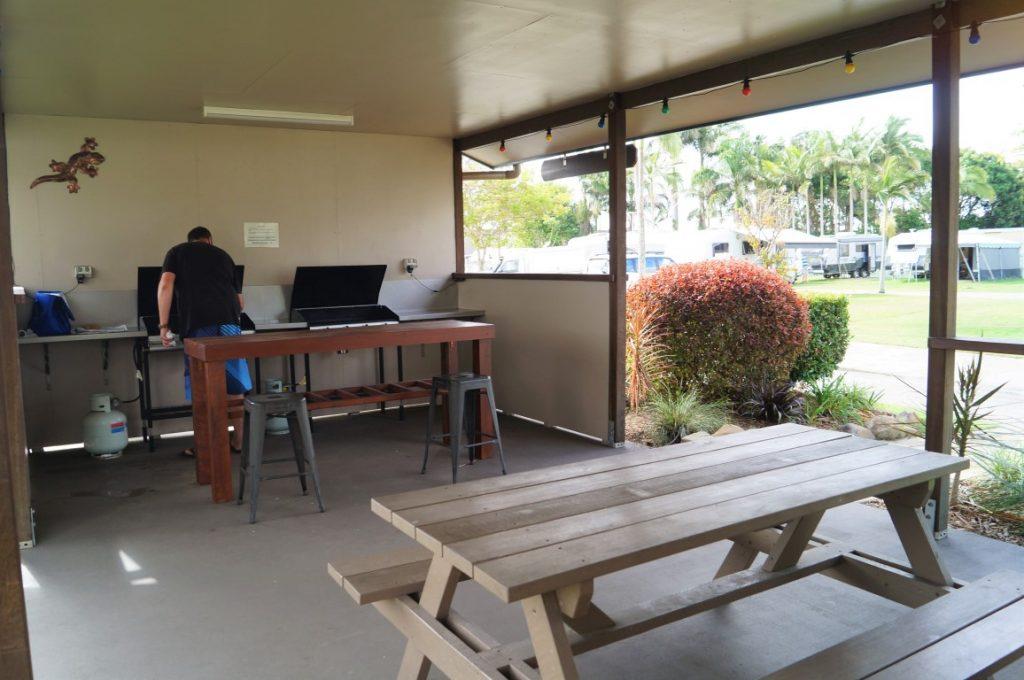The park Mackay BBQ Area