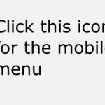 Mobile phone menu