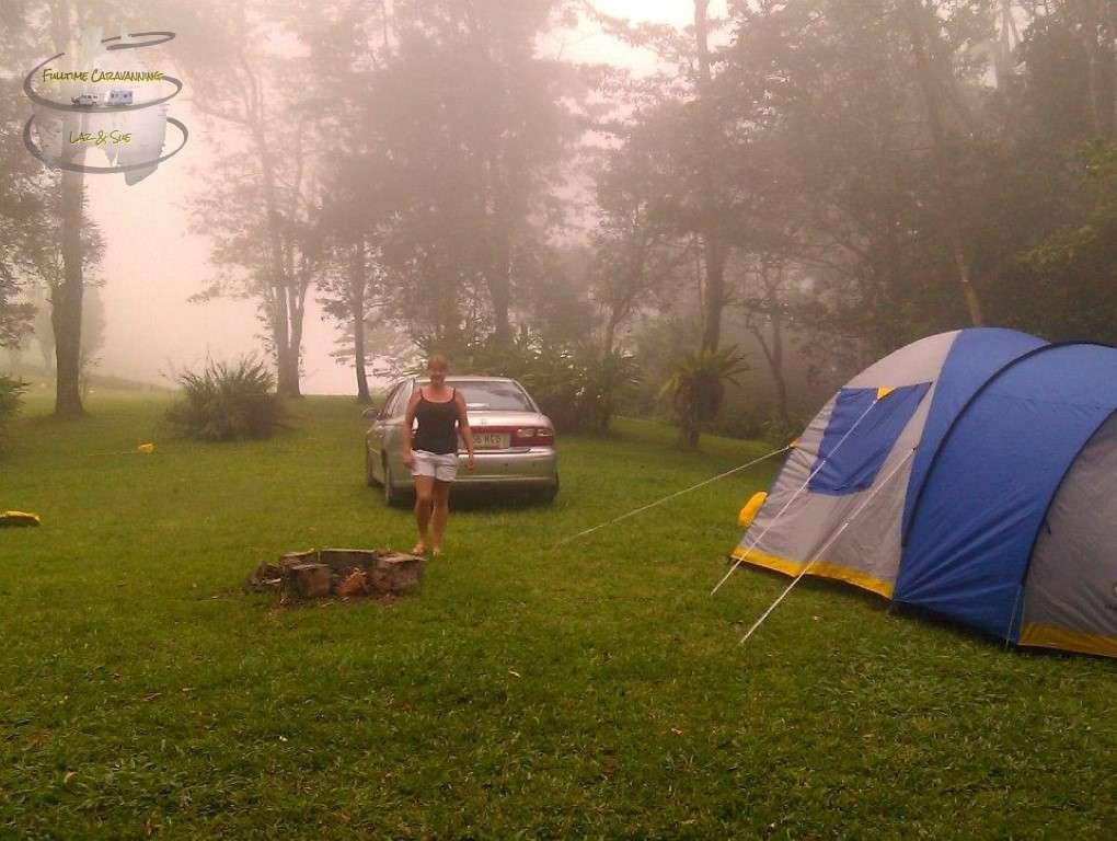 Whitsundays Eungella camping