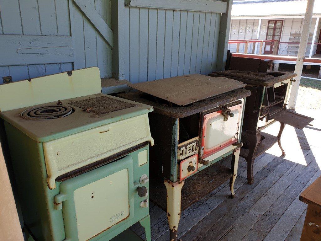 Calliope-River Historic village cooker