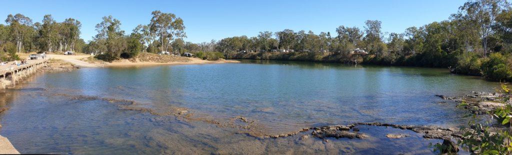 Calliope River free camp queensland