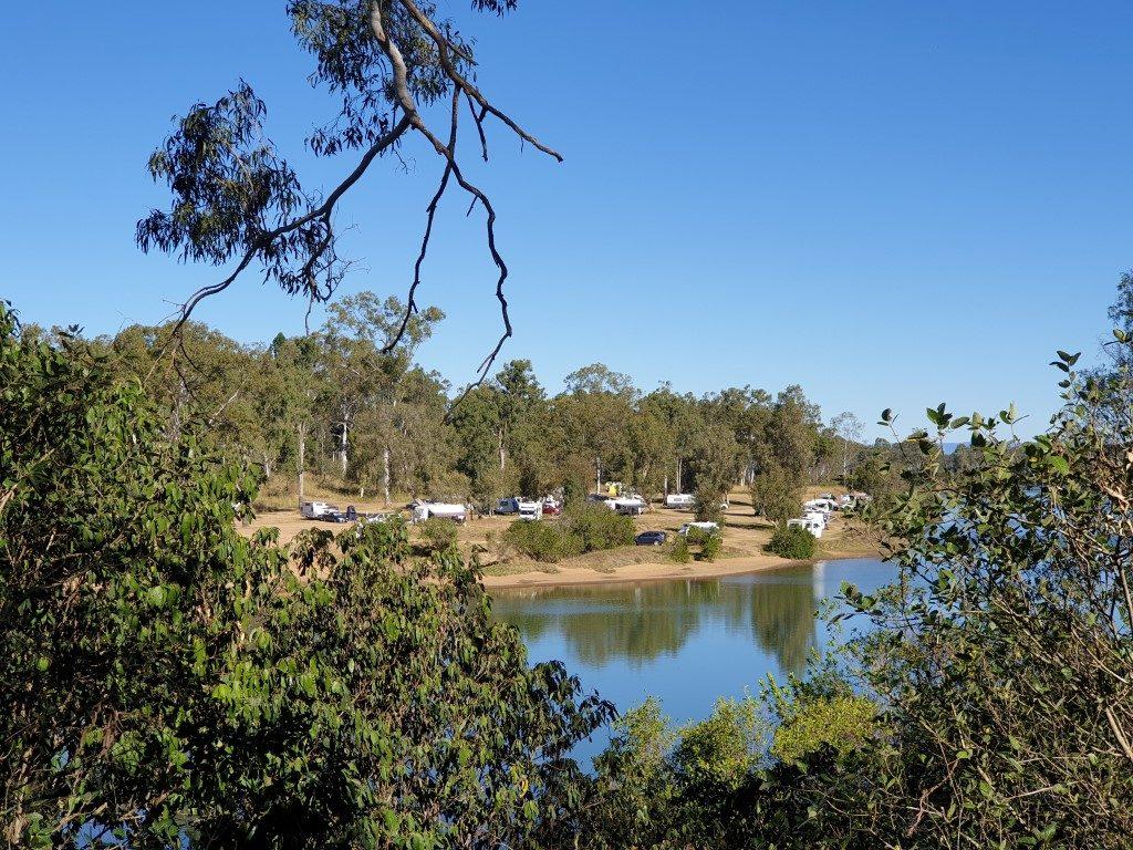 Calliope River free camp