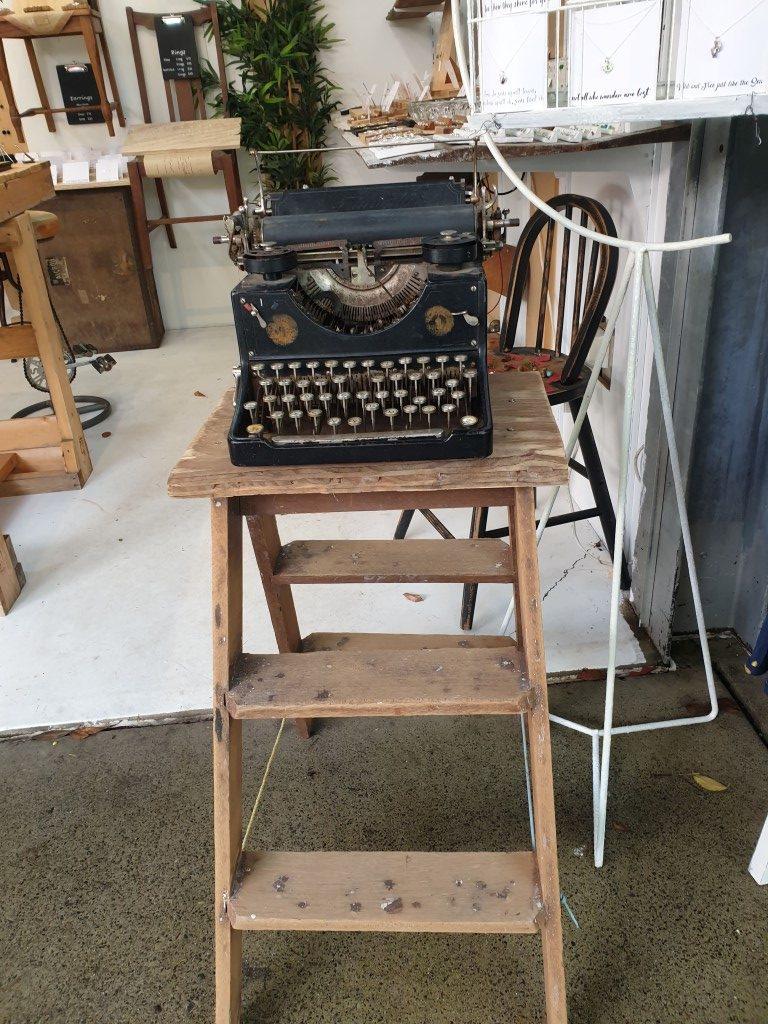 Eumundi Queensland everyday markets typewriter