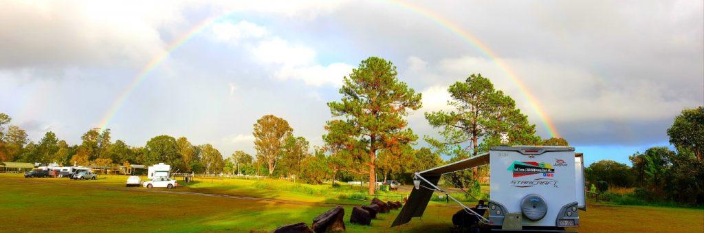 Cooroy-Stop-Over-Queensland camping caravan rainbows end