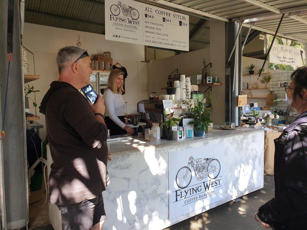 Eumundi Queensland everyday markets coffee