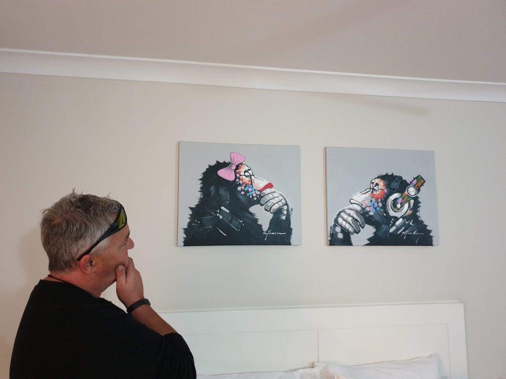 Big 4 Helensvale motel life imitating art
