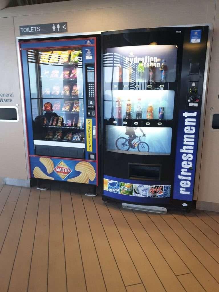 drink machine on Spirit Of Tasmania Tasmanian