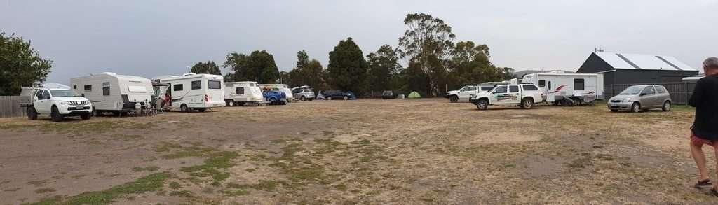 Spring Bay Hotel Triabunna Tasmania camping