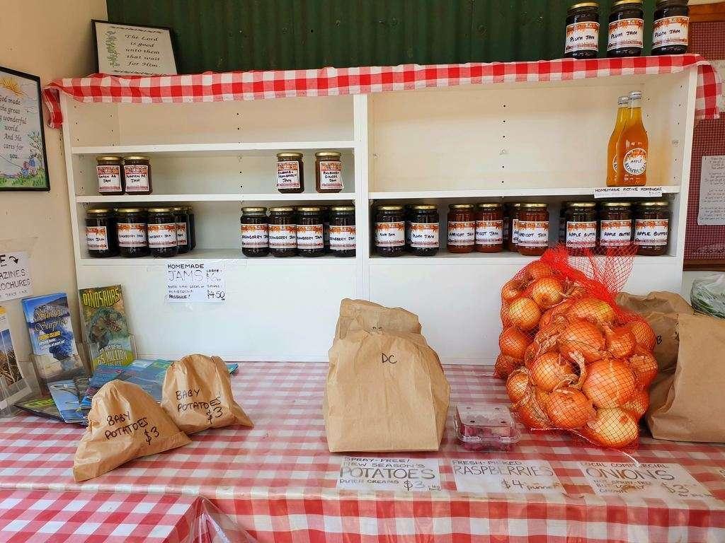 Amish food stall Scottsdale Tasmania