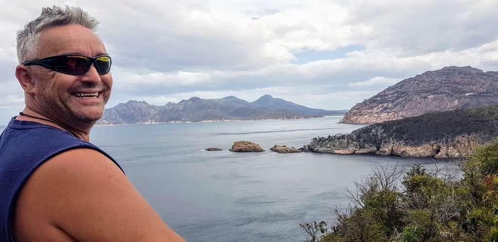 Wineglass Bay Tasmania lookout