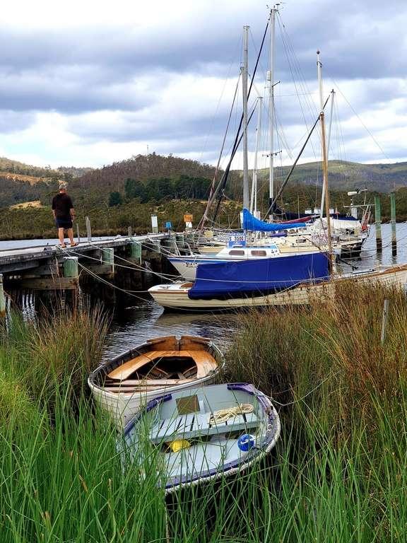 Boats Franklin Tasmania
