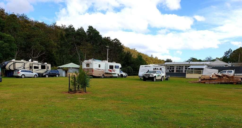 Geevestone RSL Tasmania camping