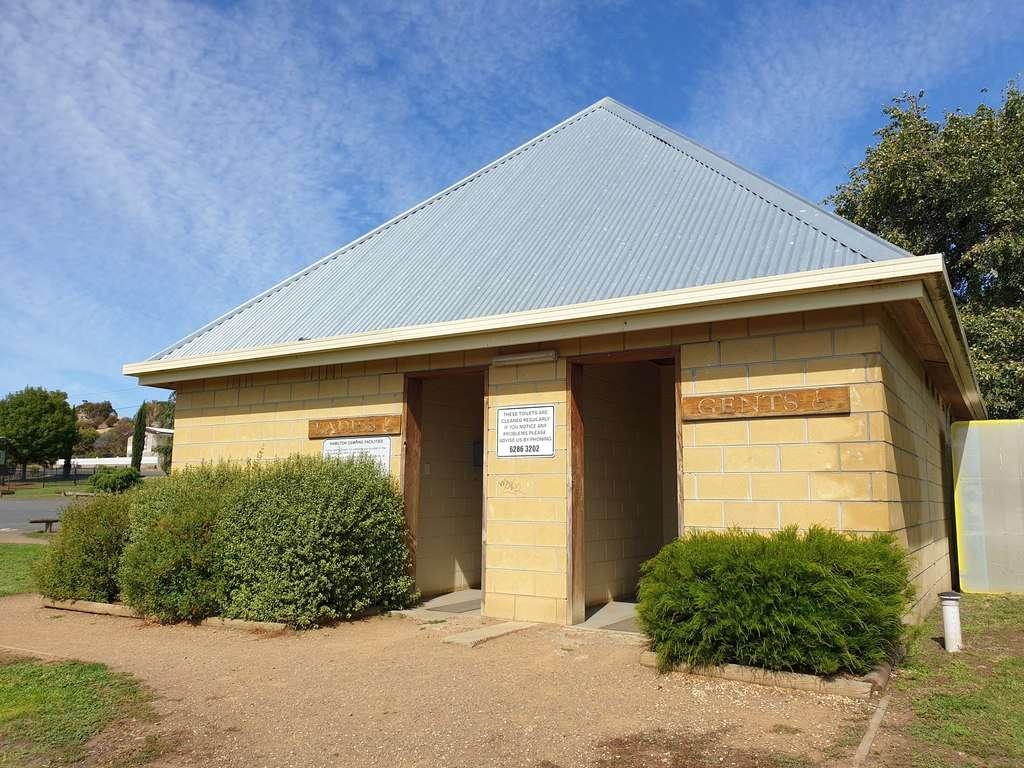 Hamilton  Tasmania toilets and showers