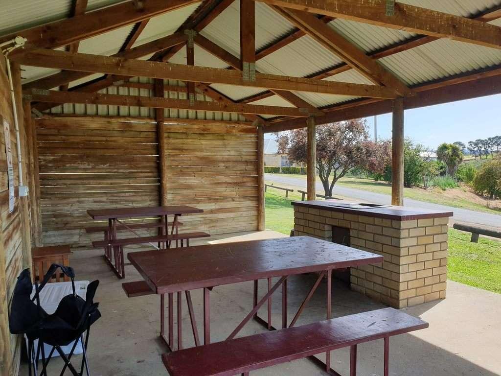 Hamilton Campground Tasmania BBQ